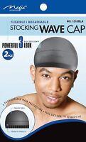 Magic Collection Men Stocking Wave Cap, Flexible ( Black )  no. *1515BLA*
