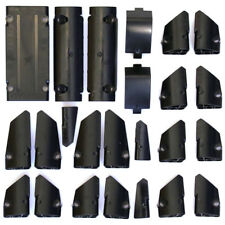 Lego Technic - Black Studless Panels Fairings Bricks - Selection 24 Parts - NEW