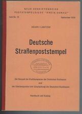 Heuer Labitzke Straßenpoststempel, Kraftkurspost, Überlandpost, Stempel-Katalog
