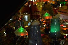 The Simpsons Pinball Party Machine Lighted Kang & Kodos Mod