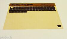 Microfich Ersatzteilkatalog TCM Gabelstabler Motor C 240 Isuzu Stand 05/1981
