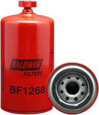 Baldwin BF1268, Suction Line Fuel/Water Separator Spin-On with Drain