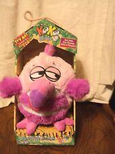 "Jay At Play Koo Koo Birds Toucan Bird Pink Micro Beads Plush 12"" In Box"