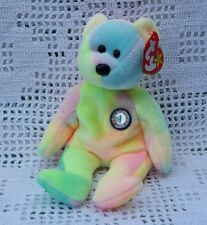BB the Birthday Bear Ty Original Beanie Babies Retired 1999 MWMT  Boys Girls 3+