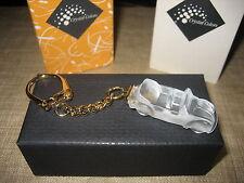 "Swarovski Crystal Memories "" Beetle car Key Chain ""  MIB- Key holder, bag charm"