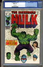 Incredible Hulk #116 CGC 9.6 NM+ Universal CGC #0078660007