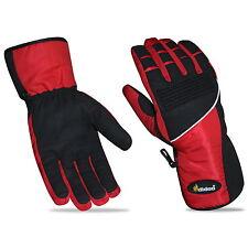 Mens Motorbike Gloves Windproof Waterproof Thermal Textile Reflective All Season L