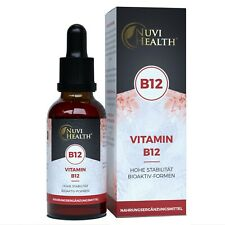 Vitamin B12 1750 Tropfen = 50 ML - Methylcobalamin - 200 µg pro Tropfen - Vegan