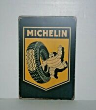 MMS1 Michelin Metal Sign 30 cm H X 20 cm W New