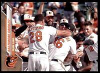 2020 Topps Series 2 Base Gold #694 Baltimore Orioles /2020 - Baltimore Orioles
