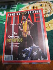 Michael Johnson Olympics Time Magazine special edition nm s1