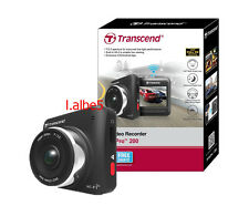 Transcend DrivePro 200 DP200 Car Cam Dashboard Camera w/Built-In Wi-Fi 16GB