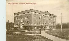 Iowa, IA, Oskaloosa, Central Holiness University 1910's Postcard
