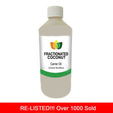 1L FRACTIONATED COCONUT OIL PREMIUM Cold Pressed Natural Carrier/Base 1 Litre