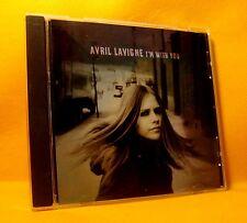 MAXI PROMO Single CD Avril Lavigne I'm With You 1TR 2003 Rock RARE !