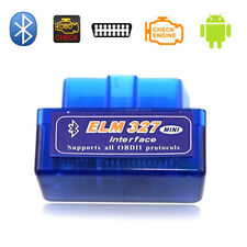 EOBD / OBD2 Bluetooth Diagnosegerät Diagnose Scanner Codeleser Torque Werkzeuge