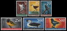 Senegal 1968 - Mi-Nr. 378-383 ** - MNH - Vögel / Birds