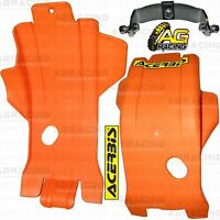 Acerbis Orange Skid Plate Sump Guard For KTM SX/F 250 2015 15 Motocross Enduro
