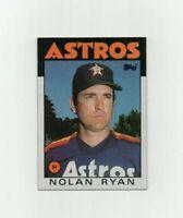 1986 Topps Nolan Ryan #100 Baseball Card Houston Astros HOF *NM-MT