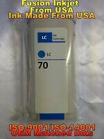 compatible INK Cartridge Light Cyan for HP 70 C9390A z3100 z3200 z5200 z2100