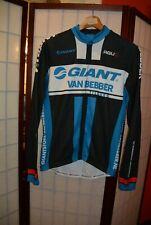 Giant Agu Van Bebber cycling jersey  Long sleeve autumn S , ALY