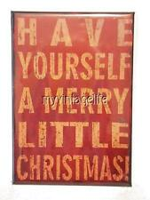 "Have Yourself a Merry Little Christmas Fridge MAGNET  2"" x 3""art"
