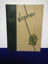"1950  UNIVERSITY of MINNESOTA YEARBOOK "" 50 GOPHER""  "" Twin Cities "" Minnesota"