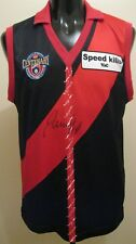 1996 AFL Centenary Reenactment Essendon Bombers Signed Football Guernsey Jumper