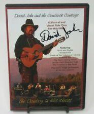 DAVID JOHN & THE CORNSTOCK COWBOYS DVD, MUSICAL & VISUAL RIDE THRU WILD WEST