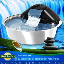 PetSafe Drinkwell Zen Stainless Steel Water Fountain Bowl for Dog & Cat Dsteel