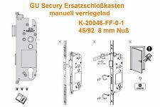 GU Hauptschloß Ersatzschloß Mehrfachverriegelung K-20046-FF-0-1 Gretsch Unitas
