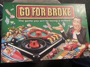 Hasbro Parker Go For Broke 2004 Board Game. Complete. Good Condition. Rare