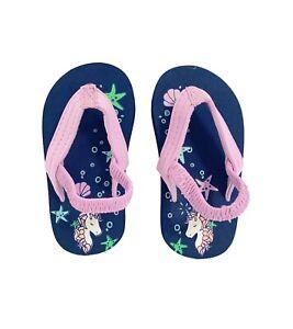 Oshkosh B'gosh Unicorn Flip Flops For Kids