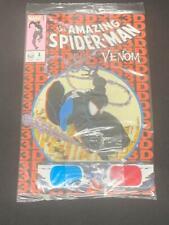 AMAZING SPIDER-MAN VENOM #1, 3D Variant, Sealed (CC2) Homage to Spider-man #300