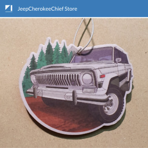 Jeep Full Size  Cherokee Chief - Air freshener - Limited Edition - Custom design