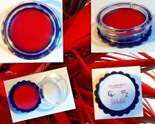 Diva Red Red Tinted Lip Balm Gloss Stick 5 g Jar 100% Pure Natural Organic