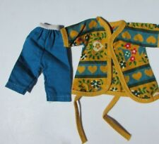"""Betsy McCall Outfit Sweet Dreams Turquoise Pants Wrap 8"""" 1959 American Character"""