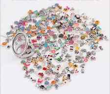 HOT New Wholesale 10pcs Bulk lot Floating Charm for Glass Living Memory Locket