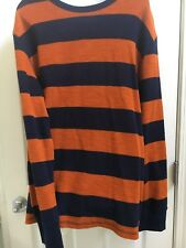 Men's Merona Long Sleeve Shirt, Size Large - New Without Tags, 100% Cotton