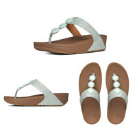 FitFlop Petra Leather Women's Toe Thong Sandals Official Stockist