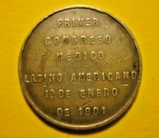 Chile silver medal 1901 First Medical congress - Latin America RARE