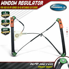 Window Regulator for Audi A3 8P1 2003-12 Front Right Driver 2/3 Doors 8P3837462A