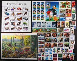 US 1999 Commemorative Year Set 111 stamps including Sheets Mint NH see scans