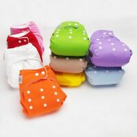 Covers Washable Adjustable Reusable Cloth Diapers Baby Nappy
