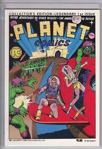 Planet Comics #1  (VF/NM 9.0)  1984 Pacific Comics, PC Classic Reprint