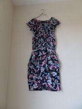 AX Paris Navy Floral Printed Bodycon Wrap Dress Size 8