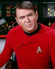 REPRINT - JAMES DOOHAN 2 Scotty autographed signed photo