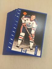 1991-92 IGA EDMONTON OILERS TEAM SET - MINT !!