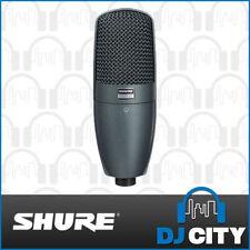 Shure Supercardioid Condenser Pro Audio Microphones
