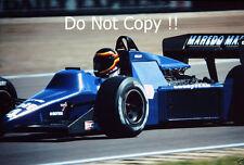 Stefan Bellof Tyrell 012 British Grand Prix 1985 Photograph 2